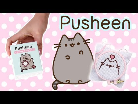 EVERY PUSHEEN FAN NEEDS THIS KIT! Pusheen Cross Stitch Kit! DIY