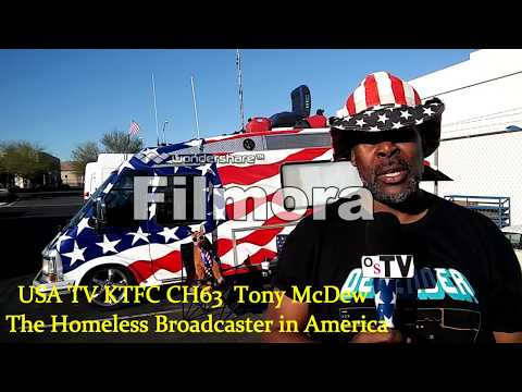 The Homeless Broadcaster in America !!! (Hosted and Produced by Tony from Cali Reality}