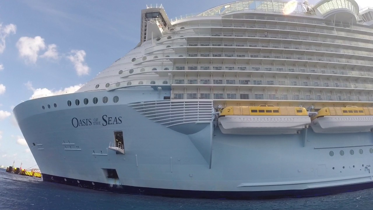 Royal Caribbean Oasis Of The Seas 2nd Largest Cruise Ship - YouTube