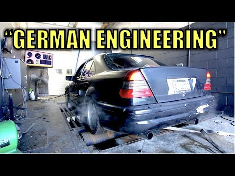 How Much Power Does a Mercedes AMG Engine Lose After 178,000 Miles?