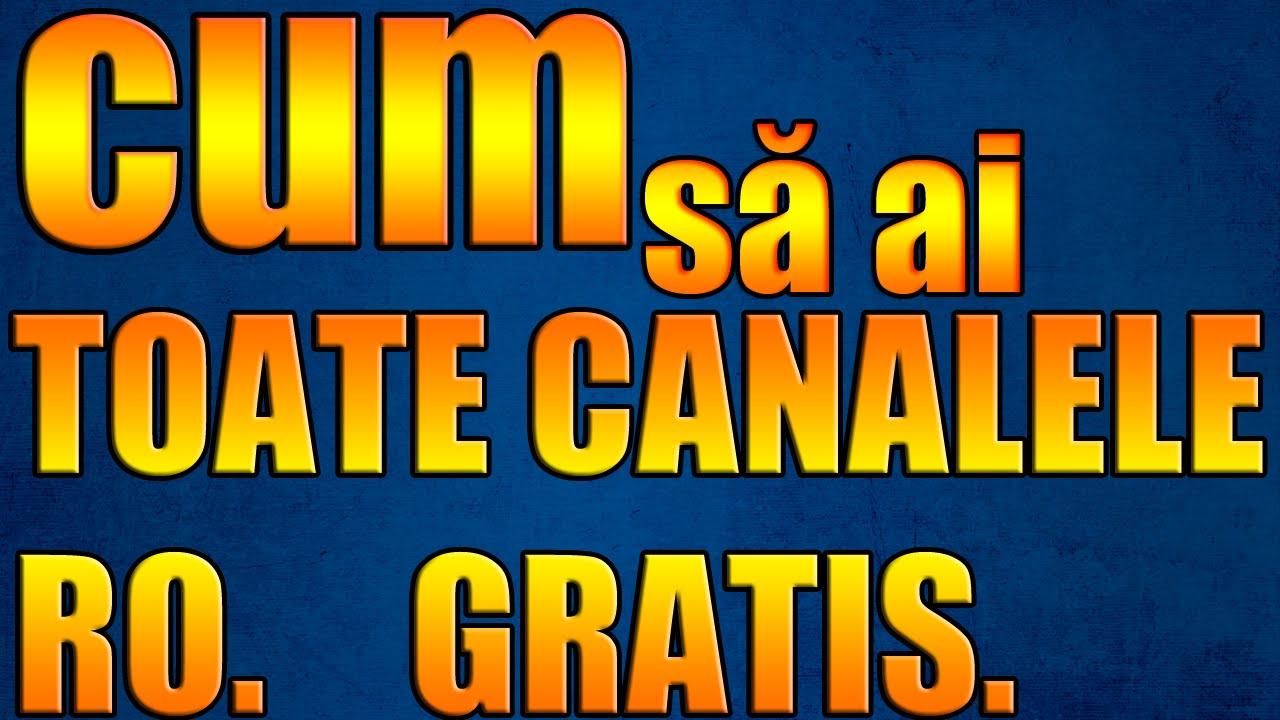 Canale tv romanesti online gratis