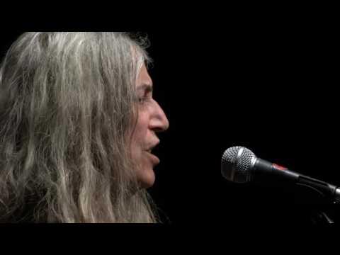 Nice : Patti Smith, icône rock des années 70 au théâtre de Verdure ce mardi - - France 3 Provence-Alpes-Côte d'Azur