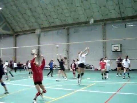 golpe mano alta voleibol