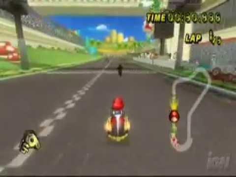 Mkwii Expert Shortcuts In Mario Kart Wii смотреть видео