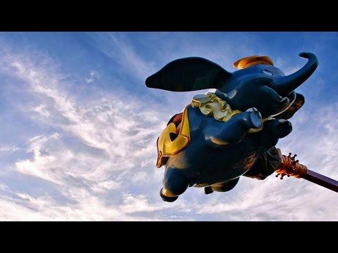 "Dumbo The Flying Elephant POV HD Disney World On-Ride ""At Night"" Magic Kingdom Orlando"