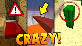 7 CRAZY GLITCHES in Minecraft!