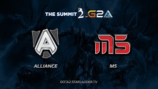 Alliance -vs- Moscow5, TheSummit 2 Europe, Day Last, game 1