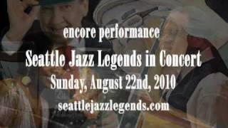 Seattle Jazz Legends in Concert at the Triple Door on Aug. 22