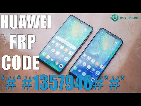BYPASS FRP HUAWEI WITH CODE  | *#*#1357946#*#* Android 8 | 9