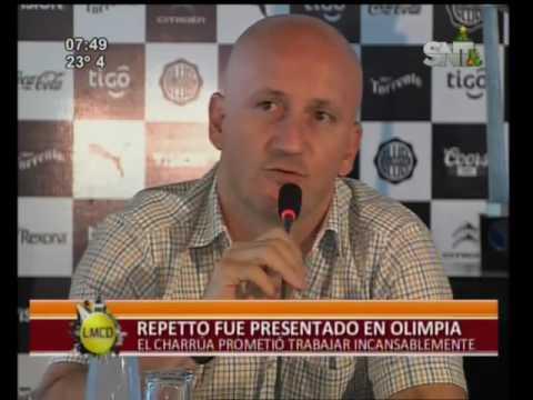 En conferencia de prensa presentan a nuevo DT de Olimpia