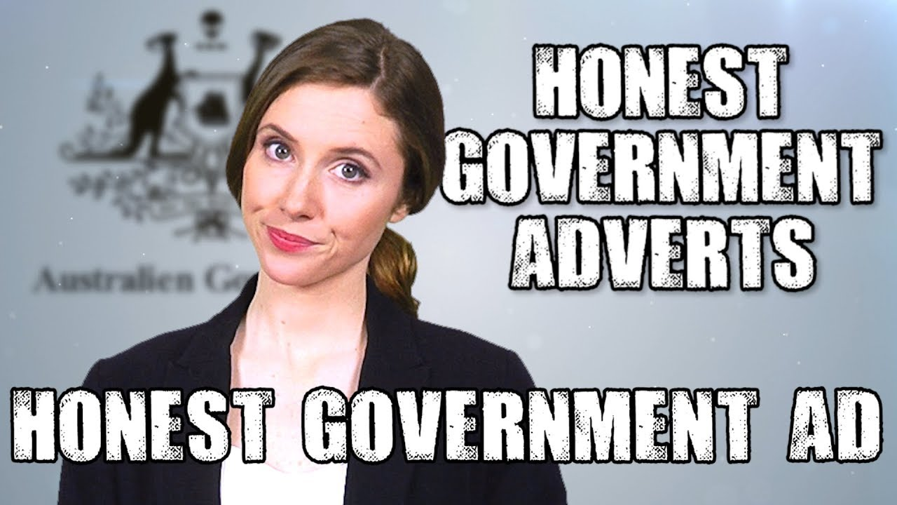 Honest Government Advert War On Satire Youtube