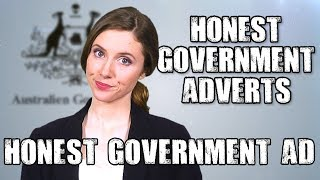 Honest Government Advert | War on Satire Video