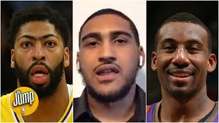 Obi Toppin says he gets compared to Amar'e Stoudemire but watches a lot of Anthony Davis | The Jump