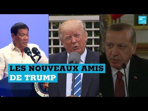 """Les """"nouveaux amis"""" étrangers de Donald Trump"""