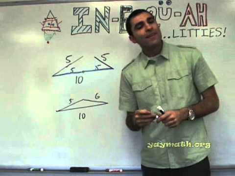 Geometry - Triangle Inequalities for sides