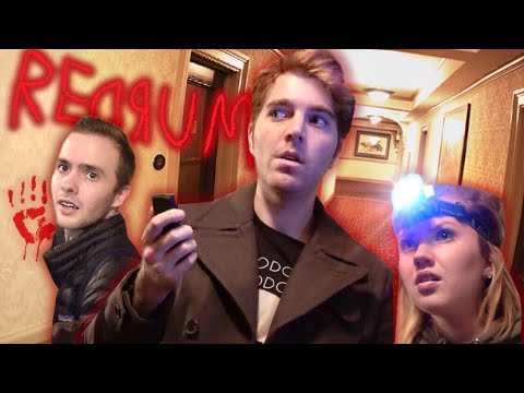 GHOST HUNTING IN A HAUNTED HOTEL