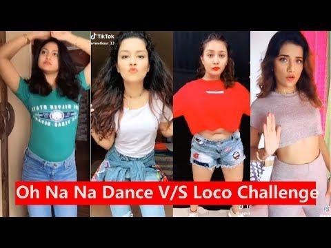 Oh Na Na Dance Challenge V/s Loco Challenge Musically | Avneet Kaur, Captain Nick, Aashika, Mrunal