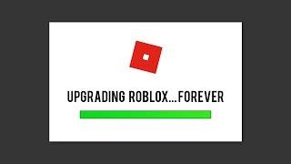 Upgrading Roblox Stuck