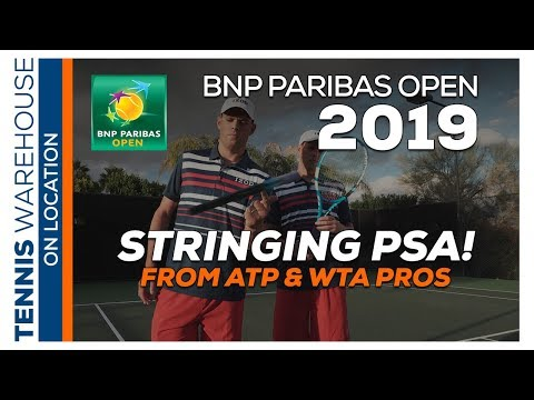 How Often Do You Restring Your Tennis Racquets?! This Is What The ATP & WTA Pros Do!