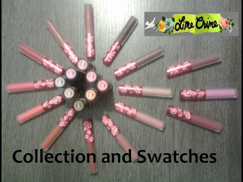Lime Crime Collection & Swatches