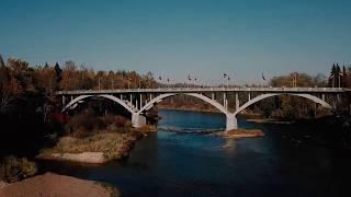 Latvia travel video (Riga and Gauja National Park)