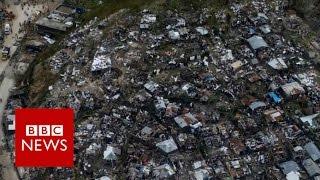 Florida warned of Hurricane Matthew 'direct hit' - BBC News