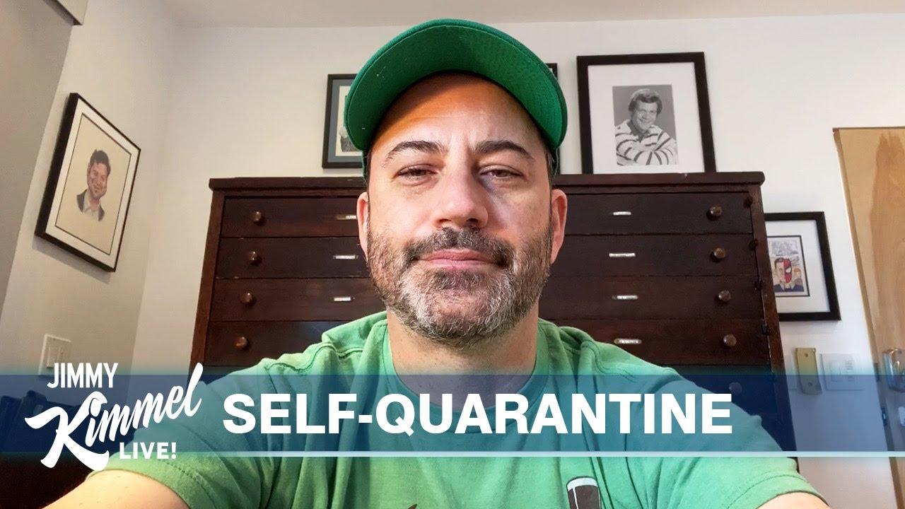 Jimmy Kimmel's Quarantine Minilogue - Home with Kids, Trump, Tom Brady & St. Patrick's Day