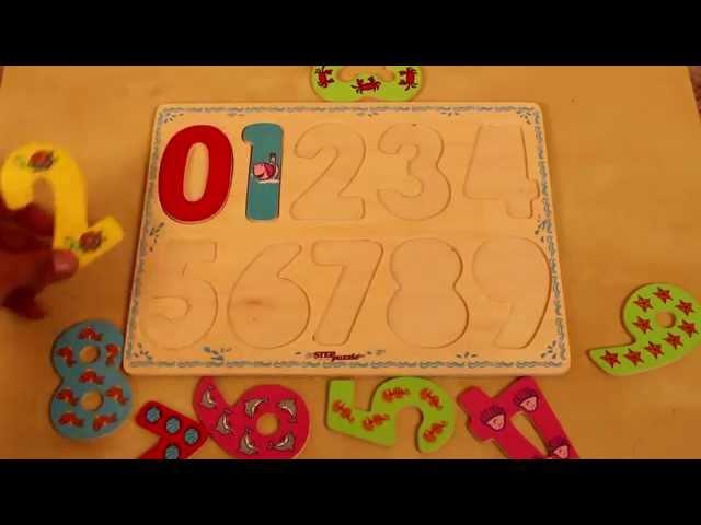Учимся считать на деревянной доске