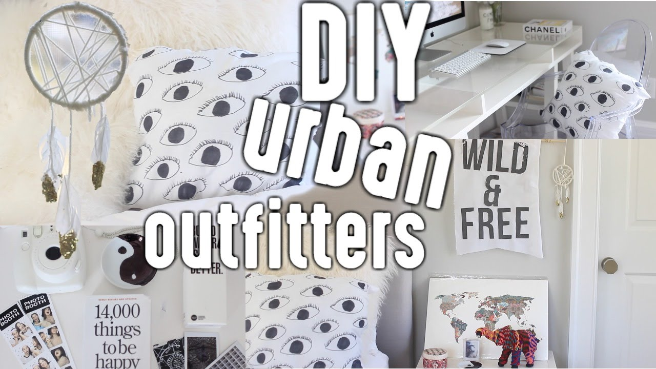 Diy Urban Outfitters Inspired Room Decor Youtube