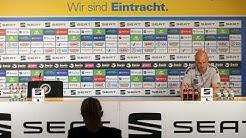 Pressekonferenz vor der Partie beim Halleschen FC