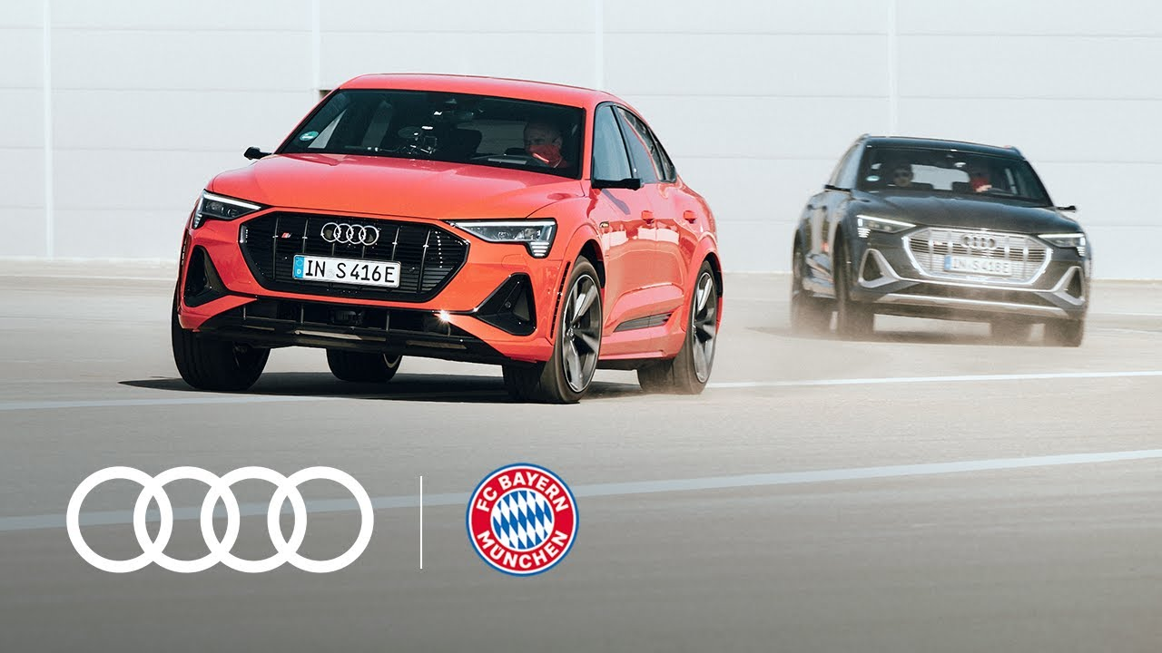 Audi X FCB: The new electric fleet