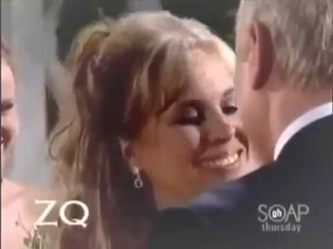 Barbara Streisand  - The Way We Were -1973 music video with Luke & Laura from General Hospital