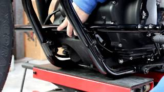star bolt highway pegs install video by low and mean