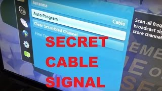 Secret Free TV Signal Through Internet with NO Cable Subscription or Equipment