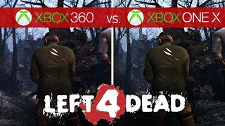 Left 4 Dead Comparison - Xbox 360 vs. Xbox One X