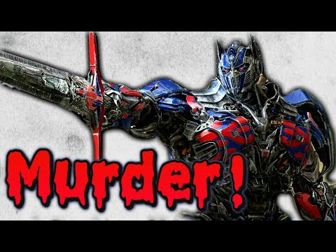 Optimus Prime is a MURDERER!!!