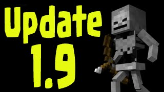 Minecraft 1.9 Update - Skeleton New Animations