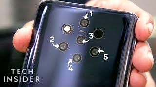 Hands-On With Nokia's 5-Camera Smartphone
