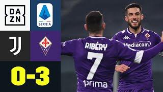 Klare Sache für den Außenseiter, erste Niederlage für Pirlo: Juventus - Florenz 0:3 | Serie A | DAZN