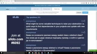 C# ООП - Подготовка за изпит - част 2 (Q&A сесия)