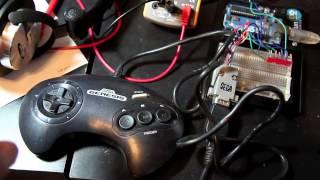 Sega Genesis Controller interfacing with Arduino Uno