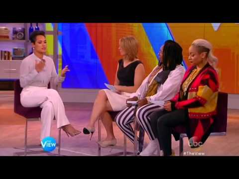 'Empire' star Grace Gealey on The View Mar 16th, 2015