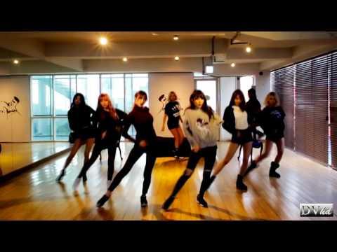 9MUSES - Sleepless Night (dance practice) DVhd