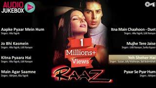 RAAZ Movie All Songs   Raaz Movie Juckbox   Best Romantic Audio Songs Ever   90s Super Hit Songs  
