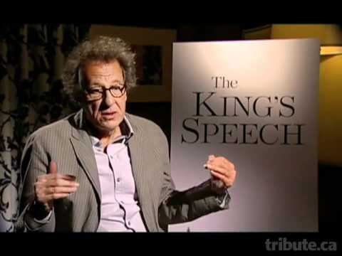 Geoffrey Rush -- The King's Speech Interview - YouTube