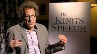 Geoffrey Rush -- The King's Speech Interview