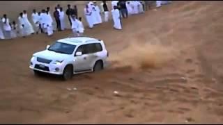 Lexus LX 570 Desert Accident