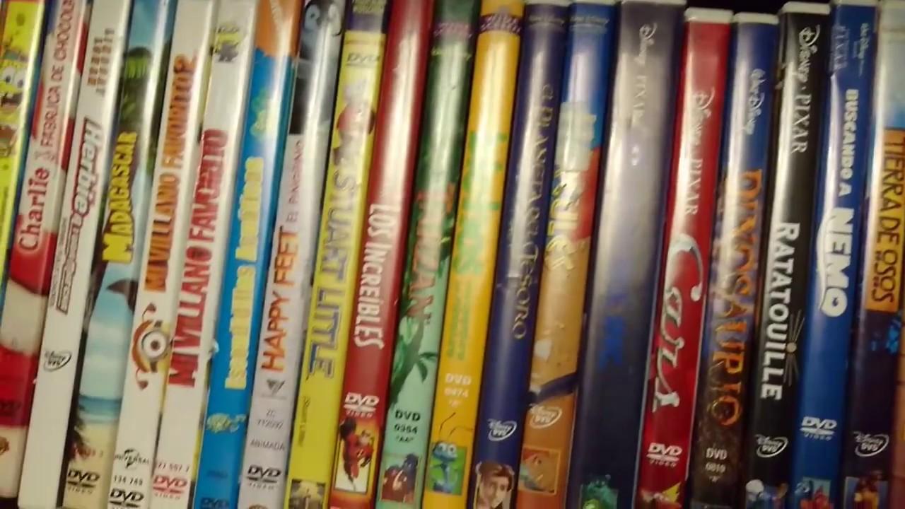Cmo almacenar pelculas DVD en maletn para ahorrar