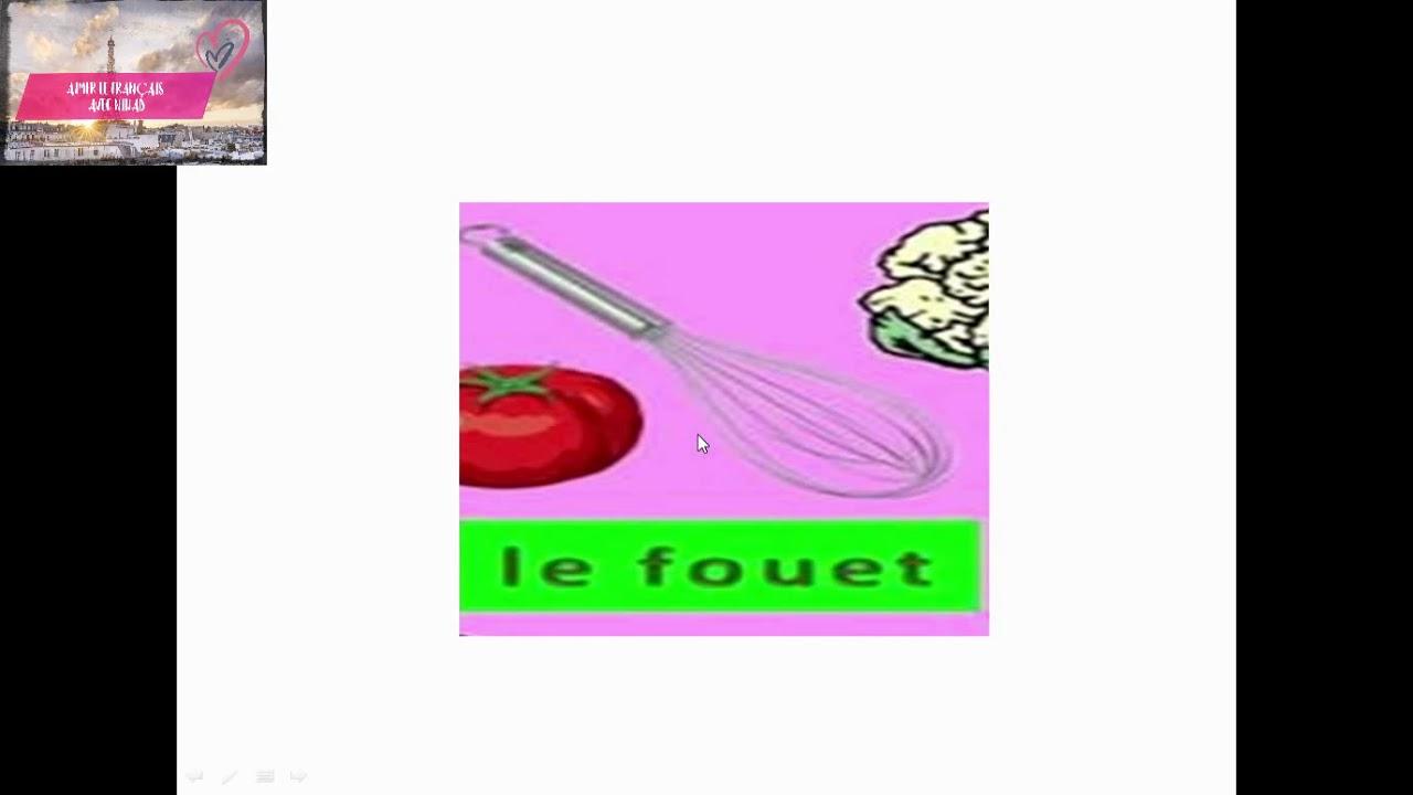 Aimer Le Francais Les Ustensiles De Cuisine 1 أواني المطبخ