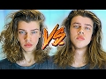 CURLY VS STRAIGHT HAIRSTYLE | For Men